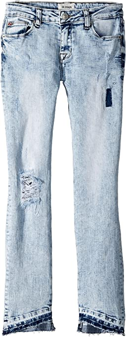 Hudson Kids Vicky Skinny Crop in Iceberg Wash (Big Kids)