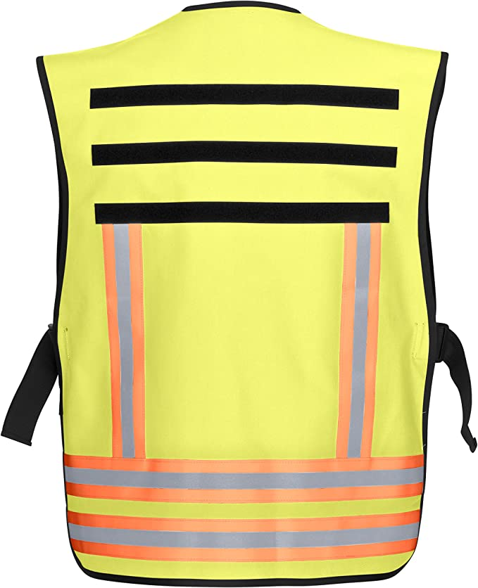 PACOTEX Funktionswesten zur Kennzeichnung von Einsatzpersonal wie z.B Feuerwehr Warnweste