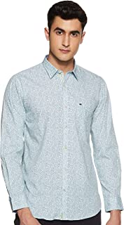 Peter England Men's Slim fit Casual Shirt