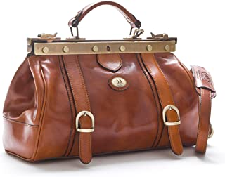 D&D - Borsa Medico Old West In Vera Pelle - Made in Italy