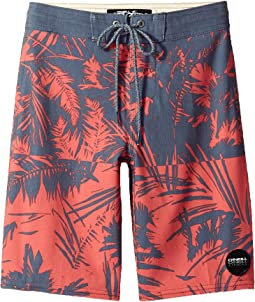O'Neill Kids - Inverted Cruzer Superfreak Boardshorts (Big Kids)