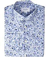 Eton - Slim Fit All Over Floral Print Shirt