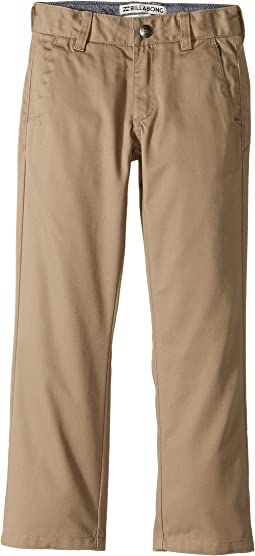 Billabong Kids Carter Chino Pants (Toddler/Little Kids)