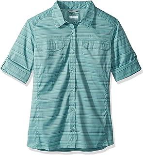 Columbia Silver Ridge™ Lite Plaid Plus Size Long Sleeve Shirt