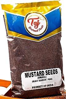 TAJ Premium Indian Mustard Seeds, Rai Sason, (Bold), (7 Ounce)