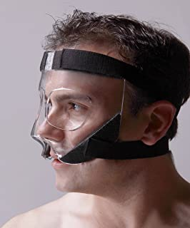 ™ - Nose Guard/Face Shield with Extra Grip Padding - Basketball, Soccer, Rugby, All Sports