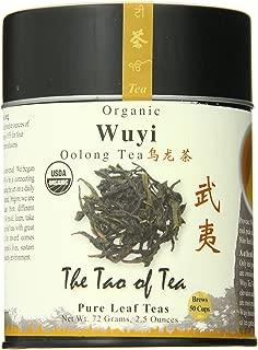 The Tao of Tea, Wuyi Oolong Tea, Loose Leaf, 2.5 Ounce Tin