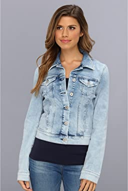 Samantha Denim Jacket in Bleach Vintage