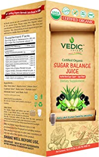 USDA Organic Sugar Balance by Vedic 500 ml