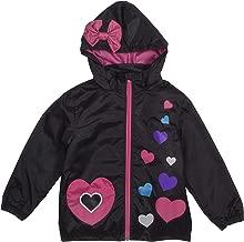 Rainbow Daze Kids Rain Coat Jacket, Boys and Girls Fun Printed Waterproof Rain Coat with Hood,Windproof, Ages 3+