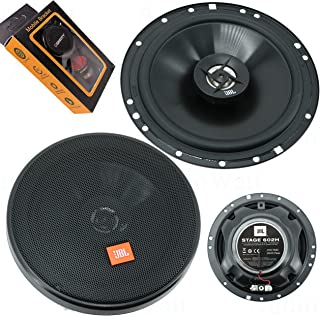$54 » JBL Stage 602H 6-1/2 Inches 260 Watts Peak Power Coaxial Car Audio Loudspeaker with Frequency Response: 55Hz – 20000Hz and...