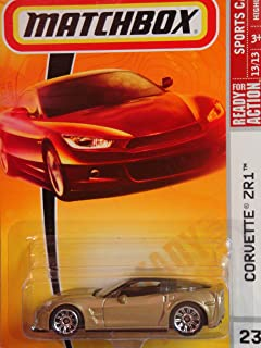 Matchbox Sports Cars Series #23 Chevy Corvette ZR1 Detailed Diecast Scale 1/64 Collector