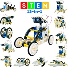 13-in-1 DIY Solar Robot-Engineering Toys stem Toys for Boys Build Kits for Kids Engineering Kits Engineering kit Build Robot Build kit Build a Robot kit Electronic Kits for Kids Big Robots for Kids
