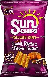 Sunchips Brown Sugar Flavored Sweet Potato Snacks, 7 Ounce