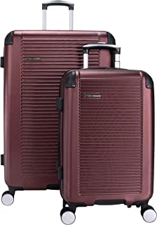 Ben Sherman Norwich Luggage Collection Lightweight Hardside PET Expandable 8-Wheel Spinner Travel Suitcase Bag, Port Roya...