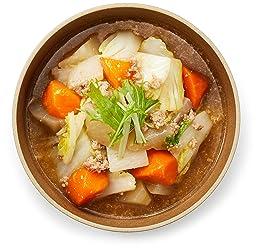 [冷蔵] 2-3人前 ミールキット 大根と白菜のそぼろあんかけキット 調理約10分