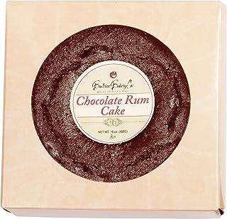 Grandma`s Chocolate Rum Cake in Gift Box 1 lb Rich Moist Full Flavored with Top Shelf Caribbean Dark Rum
