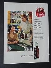 Coca-Cola, full page print ad. 8 1/2