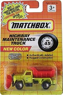 Matchbox New Color Highway Maintenance Truck - Mb 45