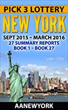 Pick 3 Lottery New York: 27 Summary Reports (Book 1 to Book 27)