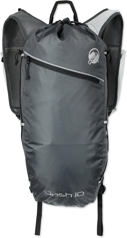 Klymit Dash 10 Running Backpack, Charcoal Grey