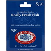 $50 Legal Sea Foods Gift Card
