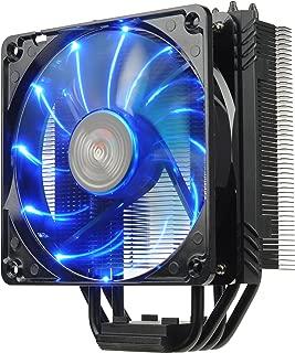 Enermax ETS-T40 Fit Outstanding Cooling Performance CPU Cooler 200W Intel/AMD 120mm LED Fan - Black, ETS-T40F-BK