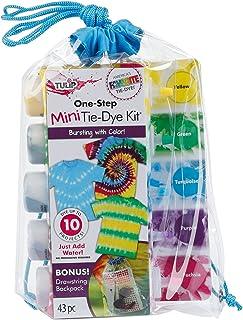 Tulip One-Step Tie-Dye Kit Tulip One-Step Drawstring Bag Tie-Dye Kit, 43 Piece Set