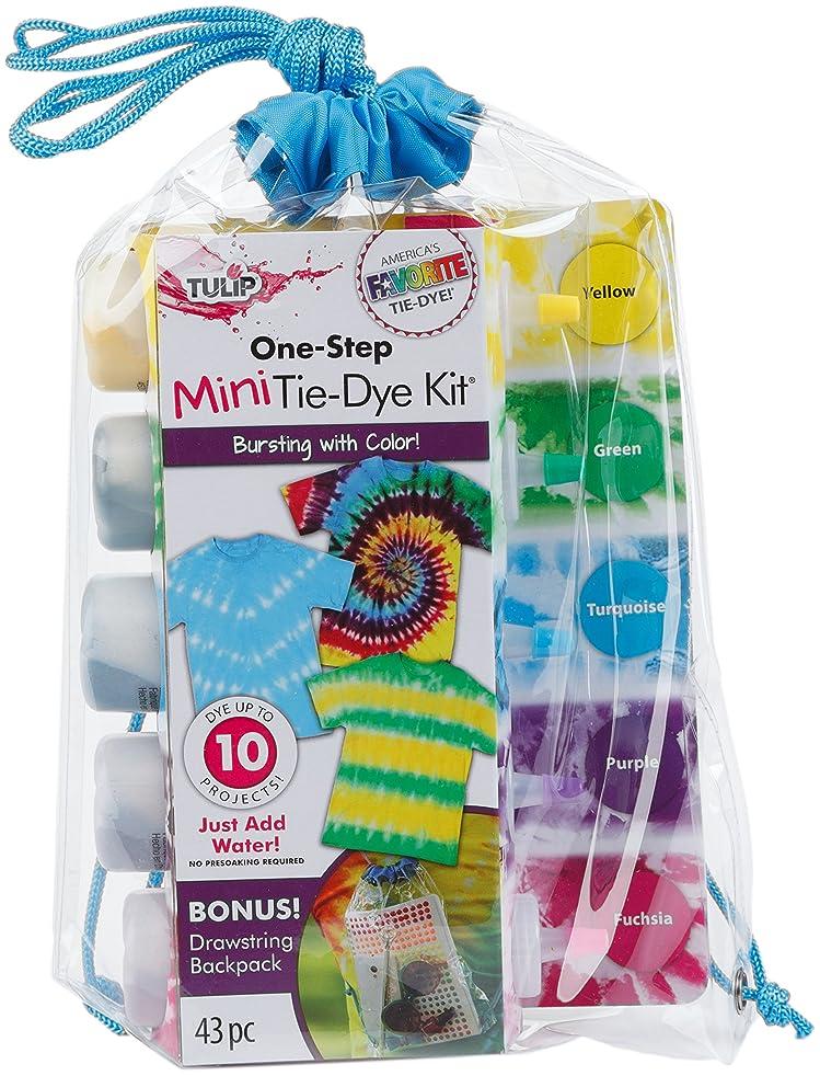 Tulip One-Step Tie Dye Drawstring Back Pack Kit, 43pc