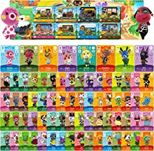 80 Pcs NFC Mini Cards for Animal Crossing New Horizons for Switch/Switch Lite/Wii (Set F #73-144 + RV#9-16)