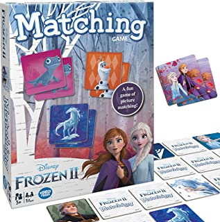 Wonder Forge Disney Frozen 2 Matching Game for Girls & Boys
