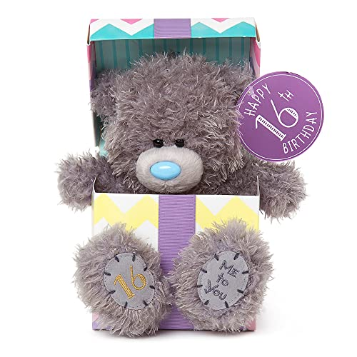 Me To You 16th Birthday Tatty Teddy In Gift Box
