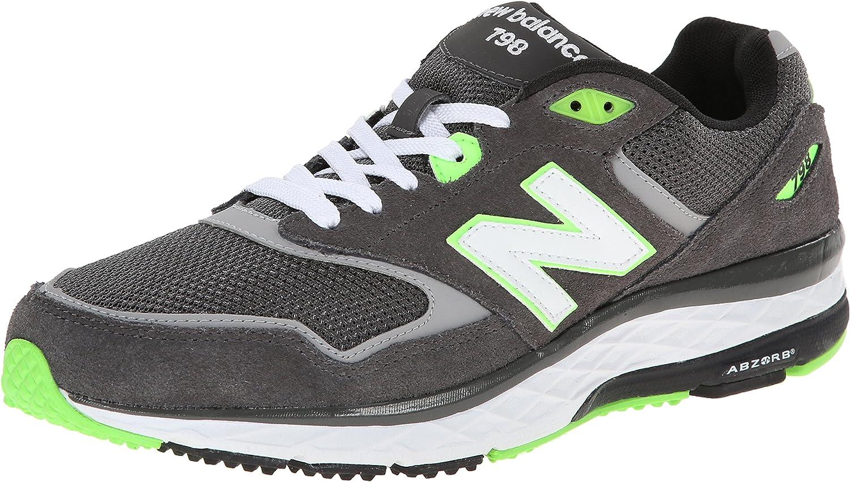 New Balance herrar herrar herrar 798 grå  grön Running skor 9 Män USA  välkommen att välja