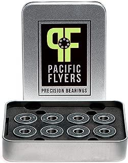 Pacific Flyers Premium ABEC 9 Skateboard Bearings / Set of 8