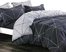 Essina Microfiber Twin Duvet Cover Set 2pc Arcadia Collection, Soft and Lightweight, Brooklyn