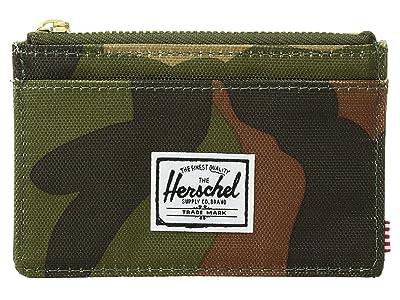 Herschel Supply Co. Oscar RFID (Woodland Camo) Wallet Handbags