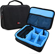 DURAGADGET Protective Blue EVA Gadget Case - Suitable for The AAXA P2 -A / P2 -B / P300 / P300 Neo / P3X / P450 / P450 Pro / P4 - X/ P5 / P700 / HD PICO/LED PICO Mini Projector - by DURAGDGET