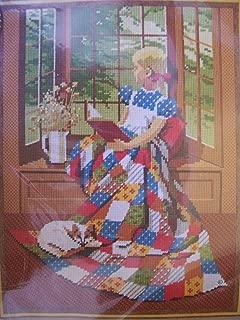 Girl at the Window Needlepoint Kit