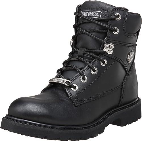 Harley Davidson Hombre Austwell Cuero schwarz Stiefel 43 EU