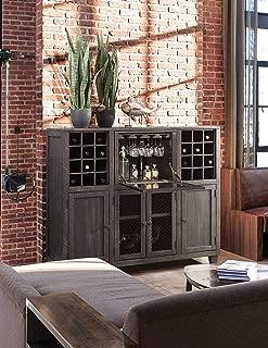 Martin Furniture IMCP300 Wine Cabinet, Brown