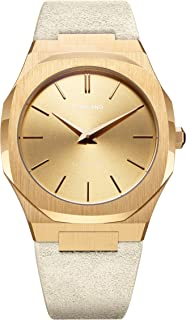 Ultra Thin Gold Dial Ladies Watch A-UTL06