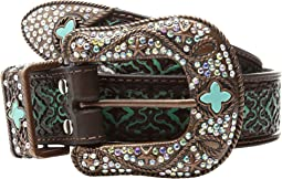 M&F Western - Diamond Turquoise Embossed