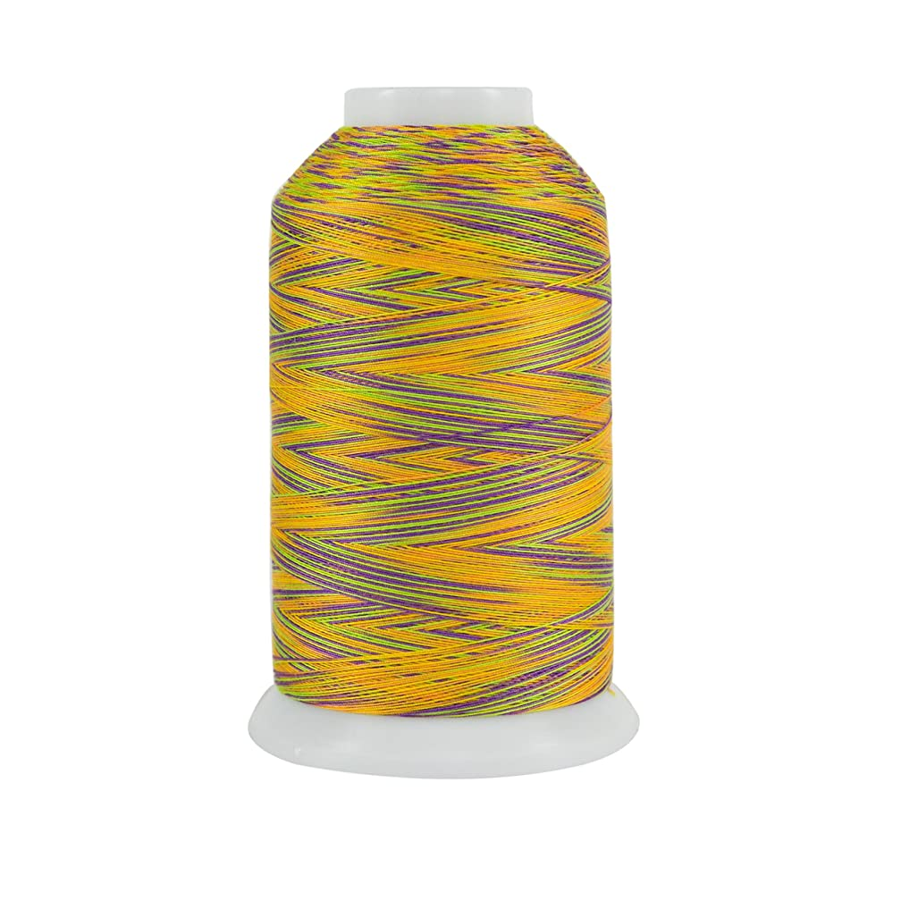 Superior Threads 121029XX931 Passion Fruit 3-Ply 40W King TUT Cotton Quilting Thread, 2000 yd