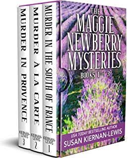 The Maggie Newberry Mysteries: Books 1,2,3: French Countryside Village Romantic Mysteries with a WWII Twist (The Maggie Ne...