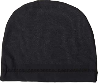 WaveBuilder Stretch Cap | Breathable Cool and Comfortable Fabric for Smooth Hair Waves, 3 Pack (Black)