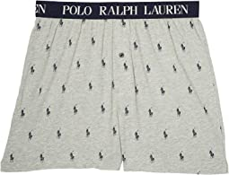 Polo Ralph Lauren - All Over Pony Player Slim Fit Knit Boxer