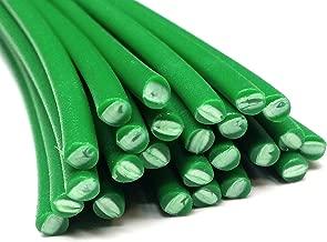 Alambre de soldadura de plástico PE-HD 4mm Redondo Verde (RAL6037) HDPE 25 barra