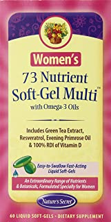 women's daily vitamins nature's measure