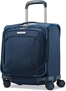 Samsonite Lineate Underseat Carry on Boarding Bag with Spinner Wheels, Evening Teal (Blue) - 121635-7720
