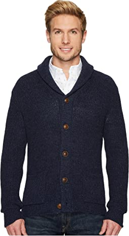 Polo Ralph Lauren. Indigo Flag Cotton Sweater. $243.75MSRP: $325. Shawl  Sweater